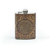 Сувениры и подарки handmade. Livemaster - original item A flask of alcohol,