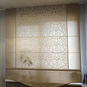 Для дома и интерьера ручной работы. Ярмарка Мастеров - ручная работа Римская штора Элегия. Handmade.