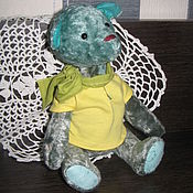 Куклы и игрушки ручной работы. Ярмарка Мастеров - ручная работа Тедди мишка Майло. Handmade.