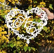 Свадебный салон handmade. Livemaster - original item Heart add to favourites. Handmade.