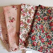 Материалы для творчества ручной работы. Ярмарка Мастеров - ручная работа ткани японские в комплекте для лоскутного шитья. Handmade.