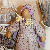 Куклы и игрушки ручной работы. Ярмарка Мастеров - ручная работа Зайка с корзинкой.. Handmade.