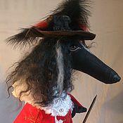 Куклы и игрушки handmade. Livemaster - original item Dog Musketeer. Handmade.