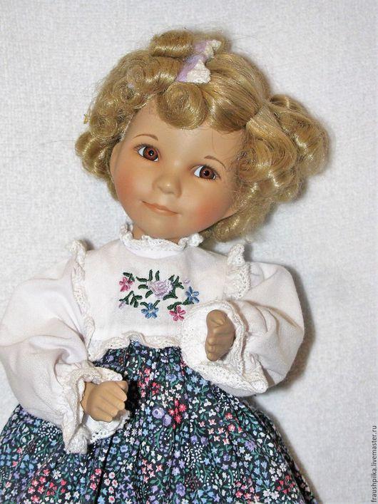 Коллекционные куклы ручной работы. Ярмарка Мастеров - ручная работа. Купить Коллекционная фарфоровая кукла Goldilock от Дианы Эффнер. Handmade.