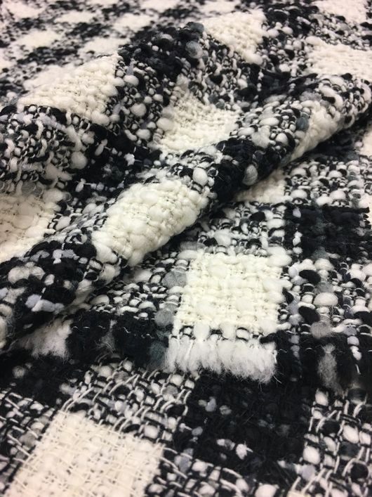 Шитье ручной работы. Ярмарка Мастеров - ручная работа. Купить Шанель 15-1795 Бело-чёрная классика. Handmade. распродажа