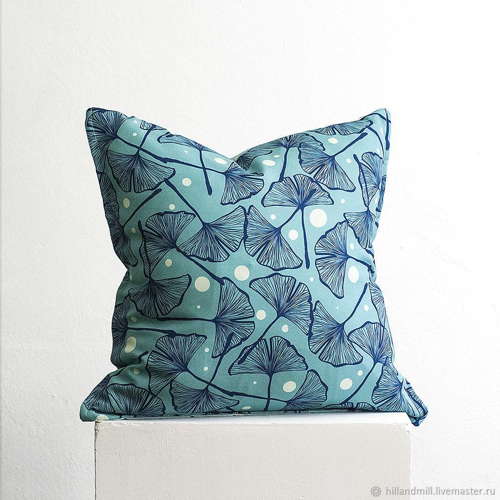 Pillow ' Gingko Biloba', Pillow, Vyazniki,  Фото №1