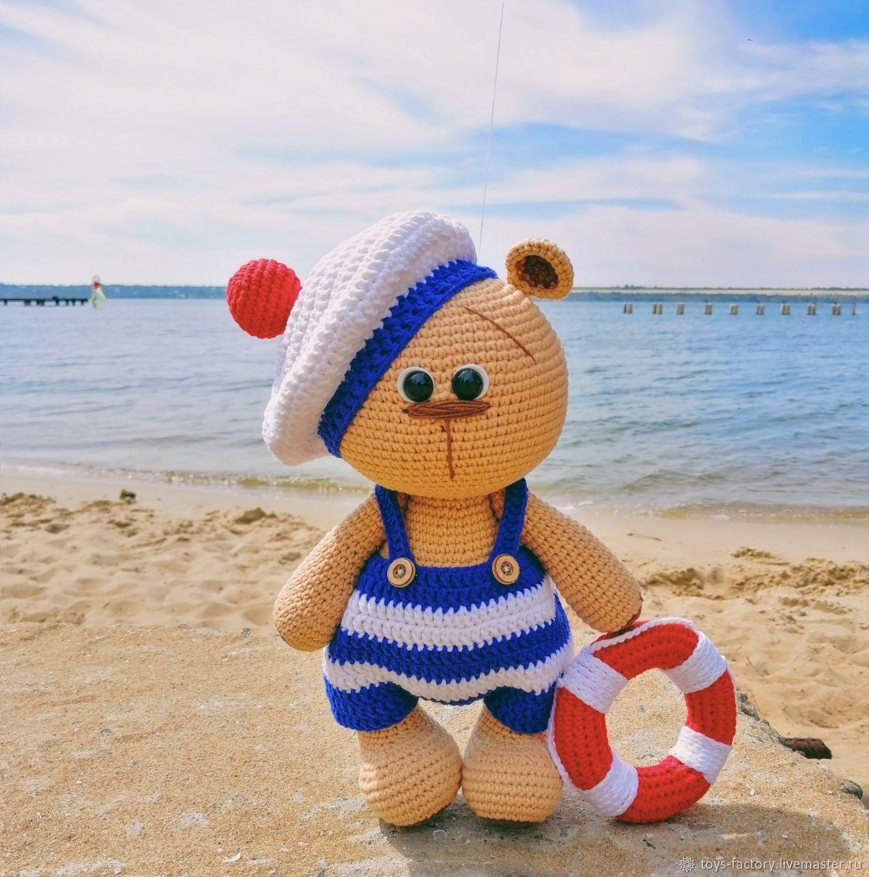 Игрушка Мишка, мишка Морячок, Мягкие игрушки, Одесса,  Фото №1