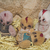 Куклы и игрушки ручной работы. Ярмарка Мастеров - ручная работа Цыпленок ,друг мишки Тедди.. Handmade.