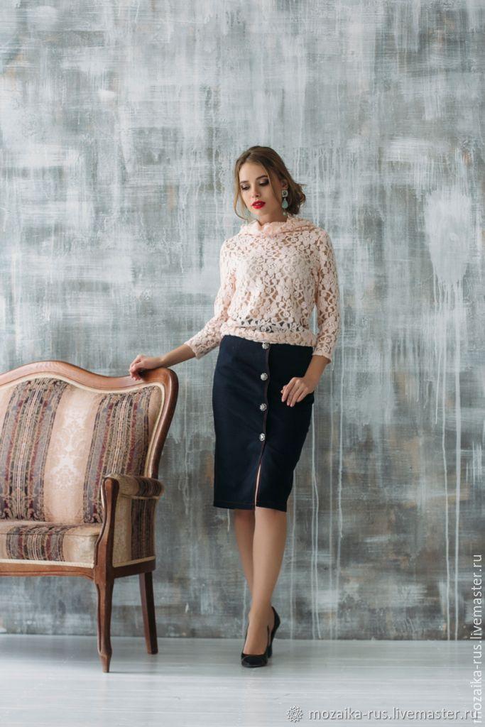 denim skirt, Skirts, Novosibirsk,  Фото №1
