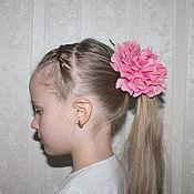 """Украшения ручной работы. Ярмарка Мастеров - ручная работа украшение для волос """"Пион"""". Handmade."""