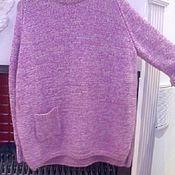 Одежда handmade. Livemaster - original item Women`s large size jumper. Handmade.