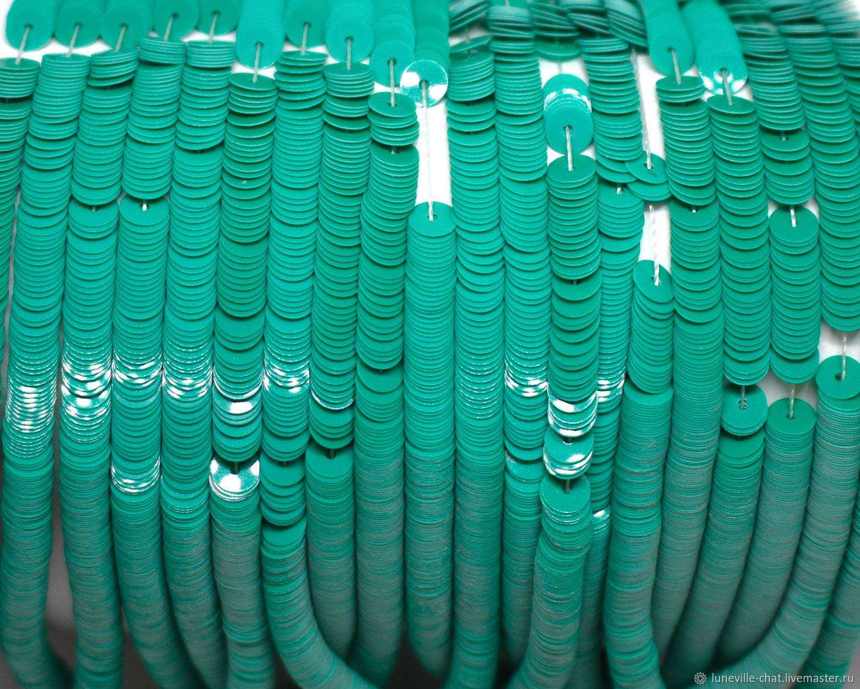 Французские пайетки 4 мм фарфоровые 6046, Пайетки, Санкт-Петербург,  Фото №1