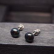 Украшения handmade. Livemaster - original item Poussettes with 925 sterling pearls. Handmade.