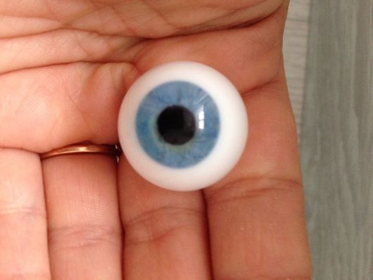 Куклы и игрушки ручной работы. Ярмарка Мастеров - ручная работа. Купить глаза Лауша 22 мм N8. Handmade.