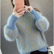 Джемперы ручной работы. Ярмарка Мастеров - ручная работа Женственный свитер. Handmade.