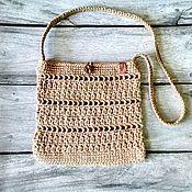 Сумки и аксессуары handmade. Livemaster - original item Bag-tablet: Eco-bag made of jute. Handmade.