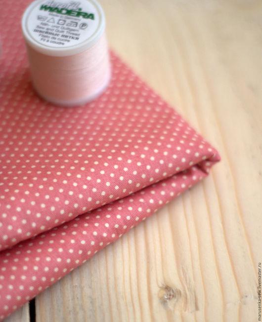 Шитье ручной работы. Ярмарка Мастеров - ручная работа. Купить Ткань для  шитья и пэчворка.. Handmade. Розовый, ткань для творчества