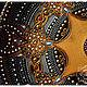 "Декоративная посуда ручной работы. Декоративная тарелка ""Кейпа"". Ия Лямкина (Coloriya). Ярмарка Мастеров. Интерьерная тарелка, тарелка на стену"