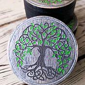 Для дома и интерьера handmade. Livemaster - original item Wooden jewelry box