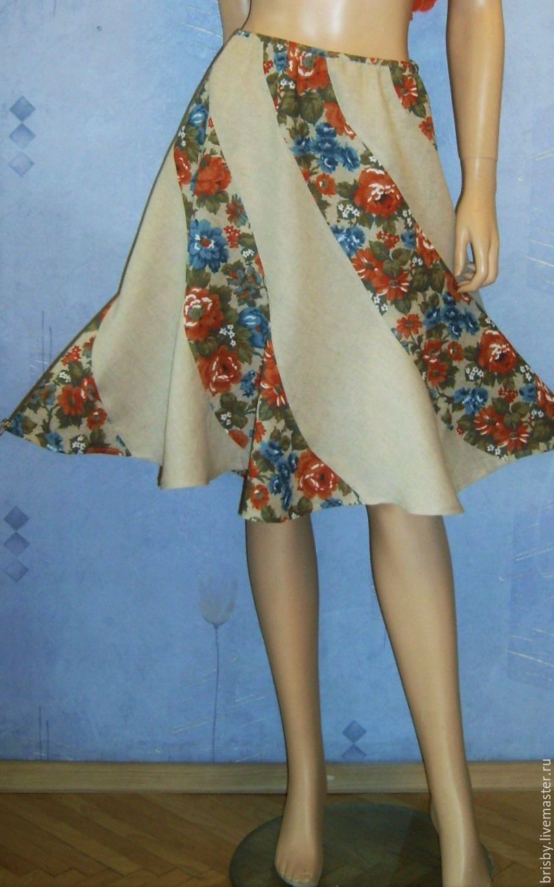 восьмиклинка юбка фото