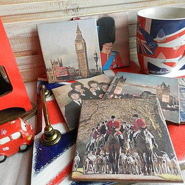 Для дома и интерьера ручной работы. Ярмарка Мастеров - ручная работа Набор Английское чаепитие. Handmade.