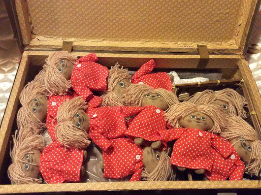 Ароматизированные куклы ручной работы. Ярмарка Мастеров - ручная работа. Купить Домовенок Кузя. Handmade. Разноцветный, домовенок, игрушка, оберег