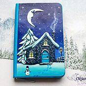 handmade. Livemaster - original item Notebook Winter night. Handmade.