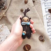 Куклы и игрушки ручной работы. Ярмарка Мастеров - ручная работа Олень - Toy deer - Cute deer. Handmade.