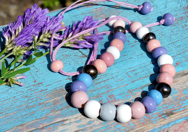 Ceramic beads ' Summer mood', Jewelry Sets, Severobaikalsk,  Фото №1