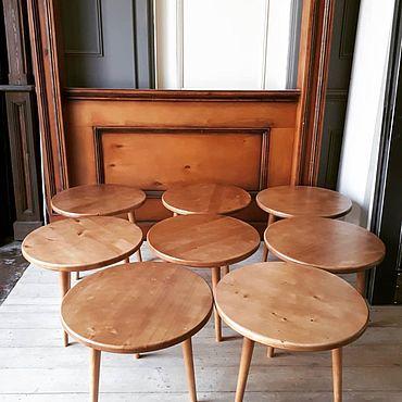Мебель ручной работы. Ярмарка Мастеров - ручная работа Круглые столы. Handmade.