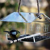Для домашних животных, handmade. Livemaster - original item Feeder for the birds
