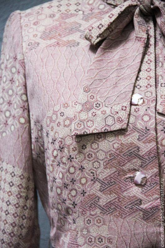 Одежда. Ярмарка Мастеров - ручная работа. Купить Платье 70-е годы JAPAN винтаж розовое. Handmade. Бледно-розовый