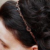 крупный ободок для волос фото