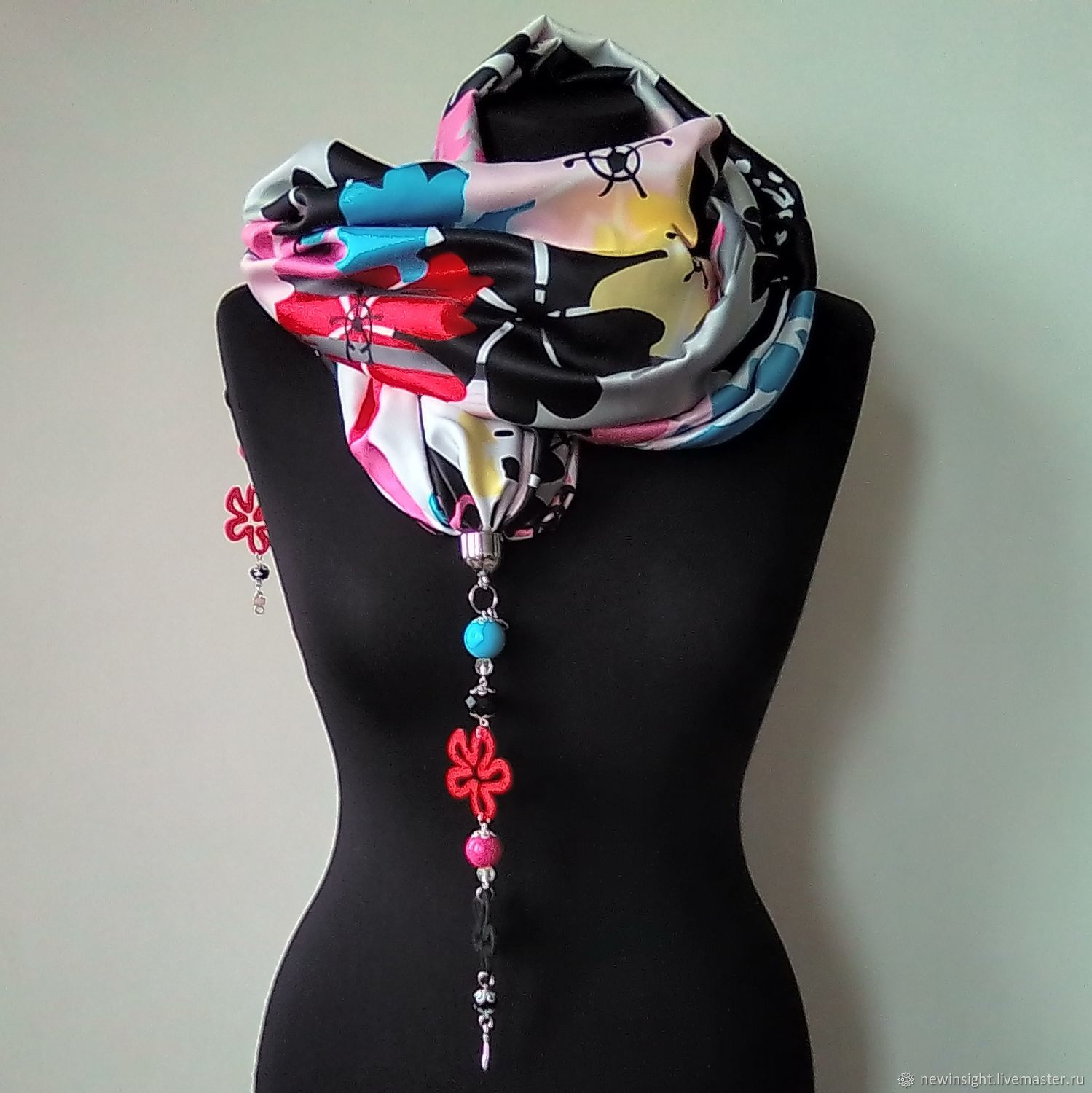 Scarf with pendants 893, Necklace, Moscow,  Фото №1