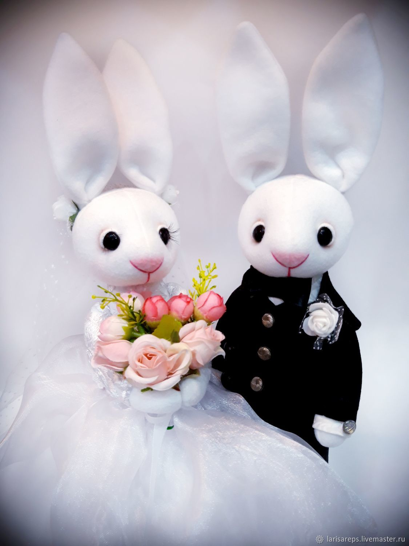 Пара свадебных кроликов, Подарки, Санкт-Петербург,  Фото №1