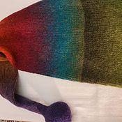 Одежда ручной работы. Ярмарка Мастеров - ручная работа Шапочка/Колпак Гнома Бохо Радуга. Handmade.