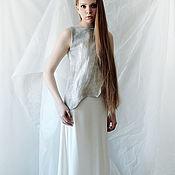 Одежда handmade. Livemaster - original item Simple wedding dress from the collection CityDzen. Handmade.