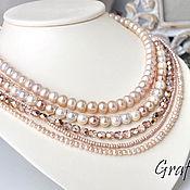 handmade. Livemaster - original item Pearl beads necklace. Handmade.