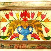 """Картины и панно ручной работы. Ярмарка Мастеров - ручная работа Картина """"Тюльпаны"""".. Handmade."""