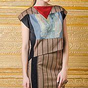 Одежда ручной работы. Ярмарка Мастеров - ручная работа Костюм топ и юбка в полоску. Handmade.