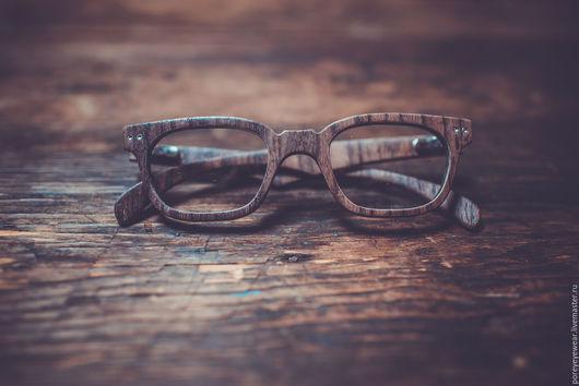 """Очки ручной работы. Ярмарка Мастеров - ручная работа. Купить Деревянные очки ручной работы """"Porey"""". Handmade. Коричневый"""