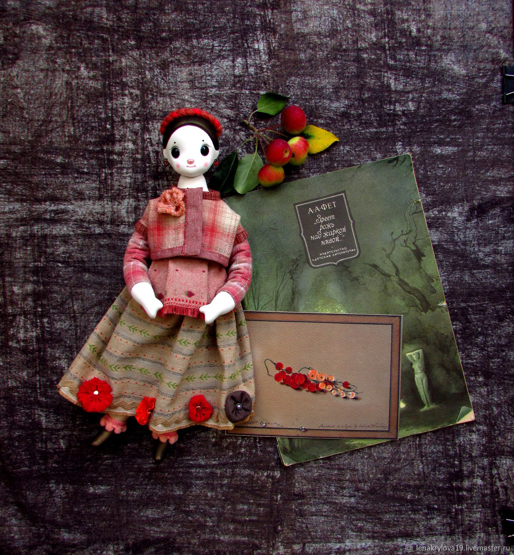 Кукла Федора №5, Куклы и пупсы, Москва,  Фото №1