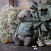 """Куклы и игрушки ручной работы. Ярмарка Мастеров - ручная работа Мишка тедди """"Зайку бросила хозяйка"""". Handmade."""