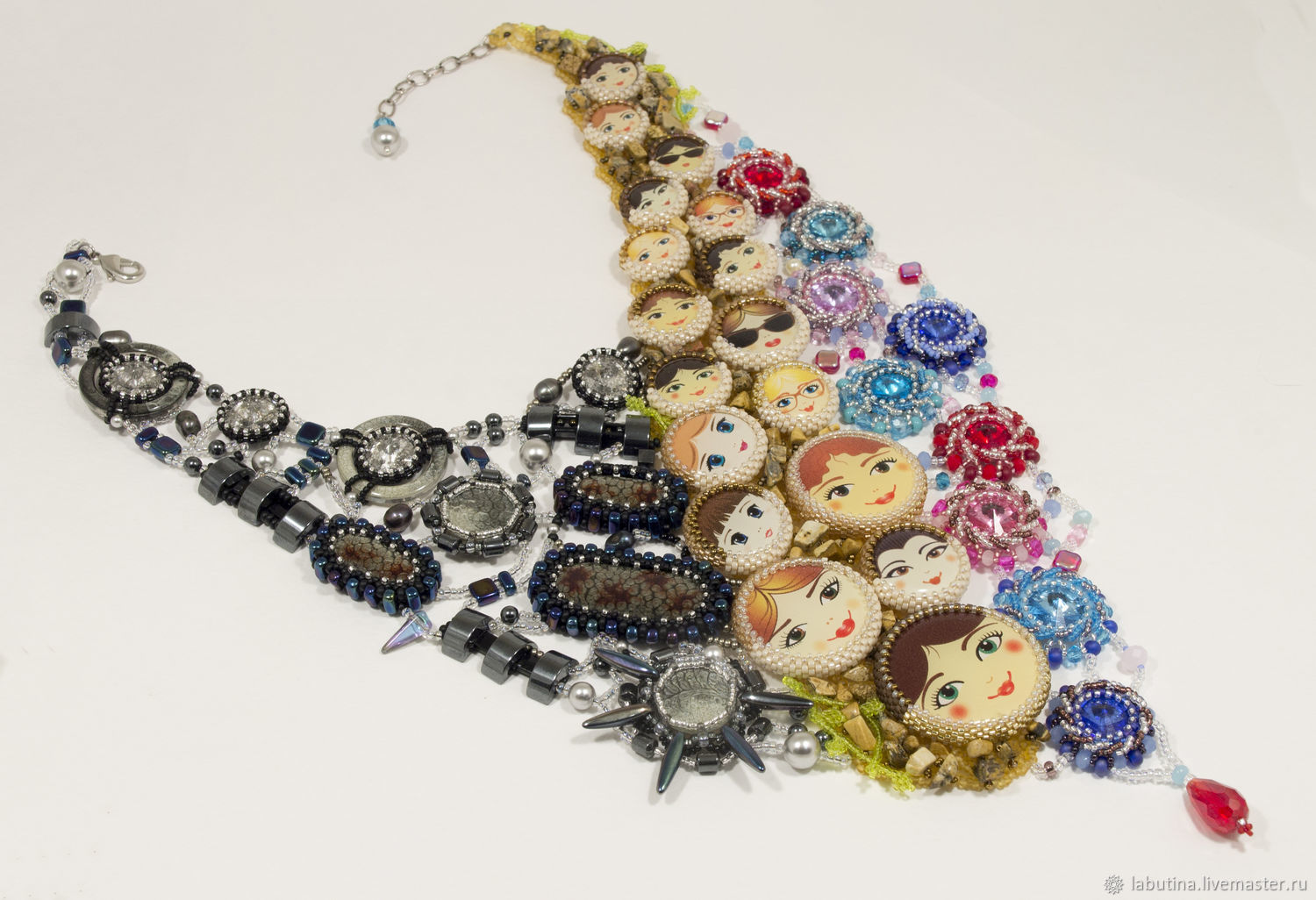 Necklace 'Moscow', Necklace, Tolyatti,  Фото №1