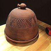 Для дома и интерьера ручной работы. Ярмарка Мастеров - ручная работа Керамическая Форма для выпечки хлеба с крышкой. Handmade.