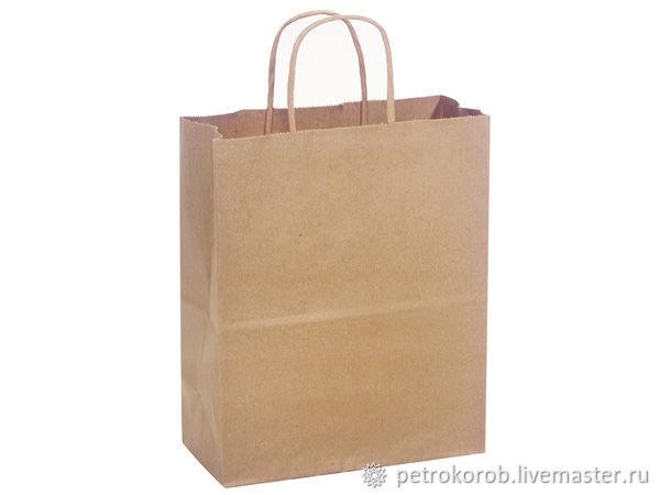 Крафт пакет 24х14х28см, Пакеты, Санкт-Петербург,  Фото №1