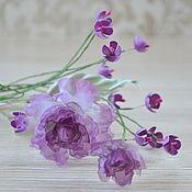 Цветы и флористика handmade. Livemaster - original item Decorative twig. Handmade.