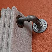 Карнизы ручной работы. Ярмарка Мастеров - ручная работа Карниз из водопроводной трубы в стиле Loft. Handmade.