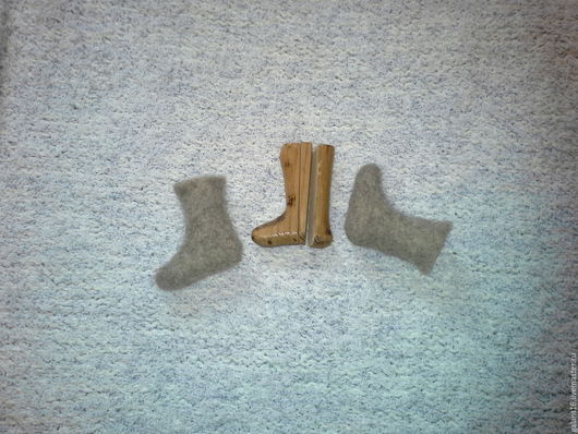 Обувь ручной работы. Ярмарка Мастеров - ручная работа. Купить Колодки для валенок сувенирные. Handmade. Колодки для валенок, бежевый