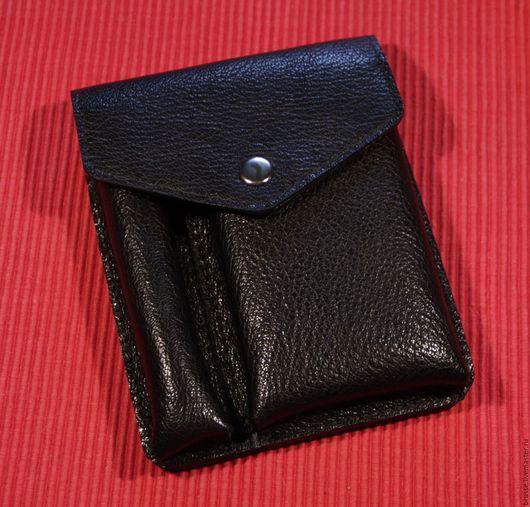 Для телефонов ручной работы. Ярмарка Мастеров - ручная работа. Купить Чехол - сумочка на ремень Redbag. Handmade. Однотонный, подарок